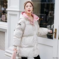 孕妇冬装服女秋冬季加厚外套中长款韩版宽松袄怀孕后期