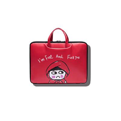 电脑包苹果笔记本包13.3寸pro卡通内胆包戴尔小米15.6寸14寸air手提包   商品的详细款式、尺寸、颜色及物流信息请联系在线客服。没有咨询清楚的,本店有权不发