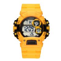 新款男士手表LED学生户外运动多功能电子表