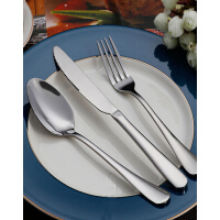 德国法克曼 Fackelmann经典不锈钢刀叉勺三件套 西餐刀 西餐勺 西餐叉 5100081+181+281