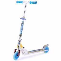 全铝合金减震儿童滑板车二轮两轮滑板车滑板车闪光