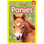 National Geographic Readers, Level 1: Ponies 美国《国家地理》杂志-儿童科普分级阅读,第1级:小型马 ISBN 9781426308499
