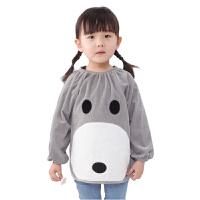 儿童罩衣 长袖 灯芯绒 宝宝反穿衣男女大童罩衣 小孩倒穿衫