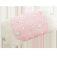 儿童枕头婴儿1-3-6岁幼儿园 四季通用透气加长纱布宝宝乳胶枕