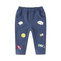 男童牛仔裤春秋儿童休闲男婴儿春装宝宝裤子
