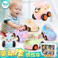 儿童玩具车宝宝惯性小汽车男孩1-2-3-5周岁4益智迷你火车飞机模型