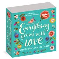 英文原版 Flow杂志:爱的箴言 手帐纸作 插画 礼品书 Everything Grows with Love: Be