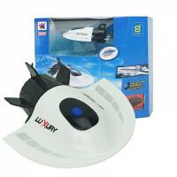 遥控潜水艇 创意RC submarine观光艇 玩具 儿童圣诞节生日礼物 白色 均码