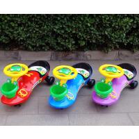 静音轮扭扭车带音乐儿童车摇摆车宝宝滑行玩具车子1-3岁溜溜车