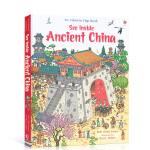 Usborne See Inside Ancient China 古代中国 看里面百科翻翻书 中国文化 儿童英语科普青