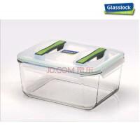 GlassLock/三光云彩韩国进口钢化玻璃扣 四面锁扣 米桶 保鲜盒6000ml