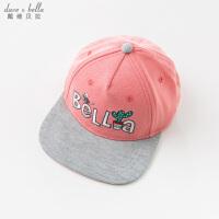 davebella戴维贝拉夏装新款女童棒球帽子中大童鸭舌帽DBK9147