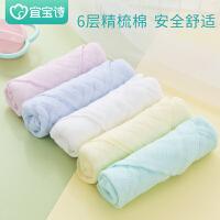 婴儿用品儿童手帕手绢宝宝棉纱布口水巾婴儿洗脸巾小毛巾方巾