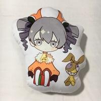 崩坏3动漫周边圣诞抱枕芽衣德丽琪亚娜布洛妮娅双面同人抱枕 约45cm