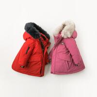 davebella戴维贝拉童装冬季新款男女童宝宝90绒保暖羽绒服DB12000