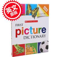 现货 英文原版 学乐幼儿图画图片字典、词典 Scholastic First Picture Dictionary -