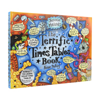 The Terrific Times Tables Book Walker出品 超赞乘法书 趣味互动立体机关翻翻书 精