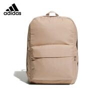 adidas阿迪达斯背包女生双肩运动包粉色户外旅行电脑包笔记本书包GE4634