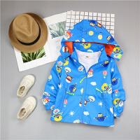 儿童男童外套薄款春秋冬装新款女宝宝风衣2-3-4-5-6-7-8岁