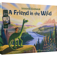 英文原版�L本3 6�q The Good Dinosaur A Friend in the Wild 恐����家 精�b �影