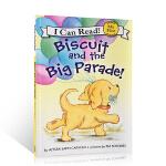 【顺丰速运】英文原版正版 I Can Read Biscuit and the Big Parade饼干狗系列 饼干和