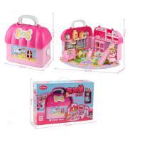 儿童玩具女孩宠物屋公主过家家手提包女童生日儿童节礼物