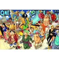 海贼王拼图1000片木质马赛克路飞抖音动漫益智平图卡通航海王 两年后9人集结木质1000片送大图