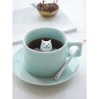 创意马克杯咖啡杯陶瓷北欧情侣礼品简约可爱杯子