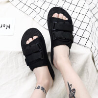 男士拖鞋外穿个性韩版个性海边夏天社会时尚沙滩港味一字拖凉拖鞋