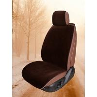 汽车坐垫冬季 毛绒座垫 短毛车垫防滑通用座椅套