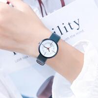 手表女学生韩版简约气质女表小清新小众ins风森系防水款