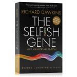包邮 自私的基因英文原版The Selfish Gene40周年纪念版40th Anniversary Edition