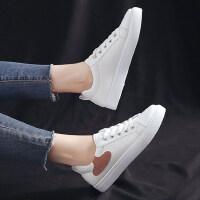 韩版学生潮搭休闲运动板鞋平底四季鞋女鞋低帮系带小白鞋