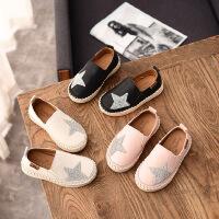 女童皮鞋2019新款时尚女孩儿童鞋子软底小公主夏款休闲单鞋