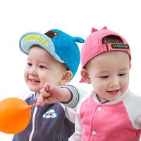 儿童帽子春夏男女宝宝鸭舌帽婴儿帽子棒球帽