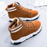 短靴女冬季2018新款韩版棉 鞋子加绒保暖冬 鞋子学生雪地靴子潮