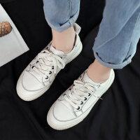 鞋子女帆布鞋户外时尚潮鞋韩版百搭板鞋休闲运动鞋小白鞋透气