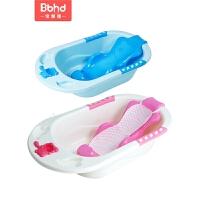 婴儿用品宝宝浴盆可坐躺通用大号小孩儿童沐浴桶婴儿洗澡盆