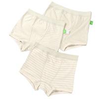 小学生儿童内裤男女童内裤4-5-6岁彩棉内裤宝宝平角三角短裤