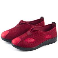 春季新款软底妈妈鞋中老年春秋奶奶鞋老北京布鞋女