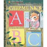 Richard Scarry's Chipmunk's ABC (Little Golden Book) 金色斯凯瑞-