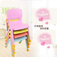 【支持礼品卡】加厚儿童椅子幼儿园靠背椅宝宝椅子塑料小孩学习桌椅家用防滑凳子3qi