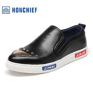 红蜻蜓旗下品牌HONCHIEF 男鞋休闲鞋秋冬鞋子男板鞋KTA1111