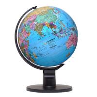 直径15cm中英文政区地球仪博目MQ1501小号高清学生教师白领用 旅行者 书房家居摆件工艺礼品 地理学习用具