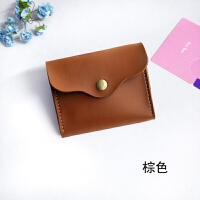 韩版女式零钱包小钱包学生短款小方包复古风钱夹女搭扣可爱小钱袋