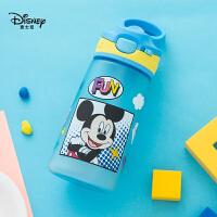 迪士尼儿童夏季水杯宝宝吸管杯鸭嘴幼儿园塑料水杯小学生便携家用