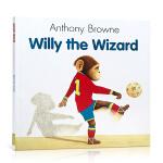 【发顺丰】英文进口原版 Willy the Wizard 魔术师威利 Anthony Browne安东尼布朗经典图画故