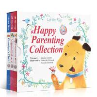顺丰包邮 英文原版绘本HappyParentingCollection叽里咕噜快乐亲子套装3册小达人点读 儿童宝宝英语