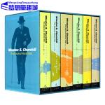 英文原版 The Second World War 丘吉尔二战回忆录 6册礼盒装 历史战争章节小说巨著 Winston