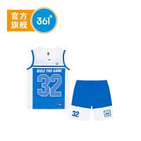 【开学季到手价:71.6】361度童装 男童套装2020年夏季新品运动休闲套装K51921462
